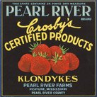 Pearl River Farms strawberry poster